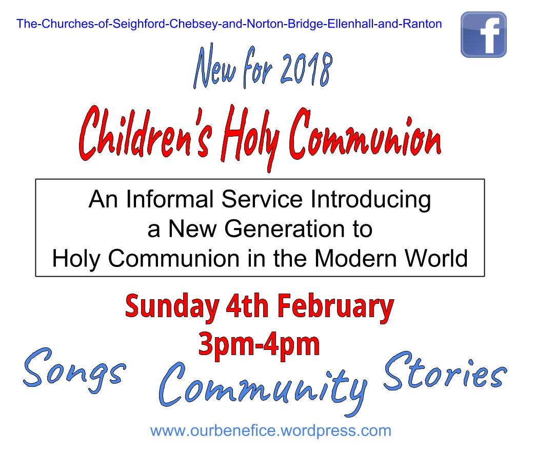 MC Holy Communion Poster
