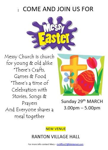 messy church mar
